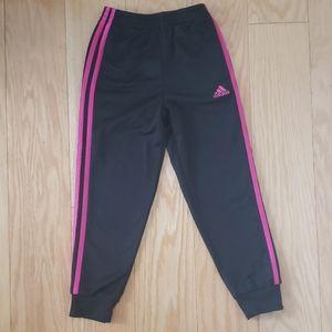 Adidas girls long sweatpants